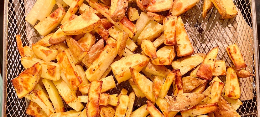 Air Fryer Rosemary Duck FatFries