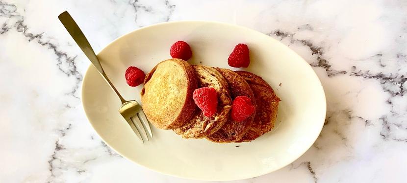 Oat flour pancakes, a gluten-free breakfastidea