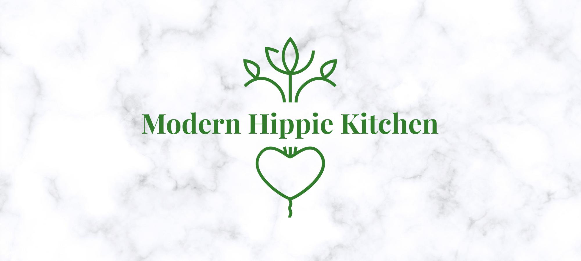 Modern Hippie Kitchen