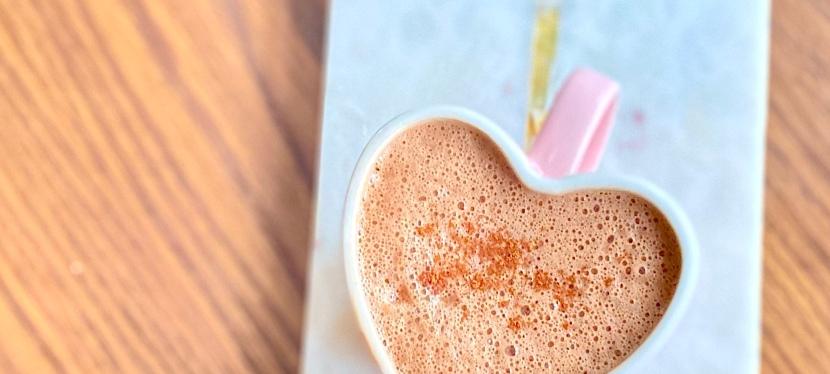 Collagen mocha (aka grown-up hotchocolate)