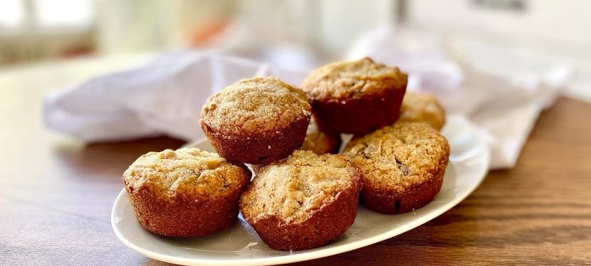 Gluten free mascarpone muffins with darkchocolate