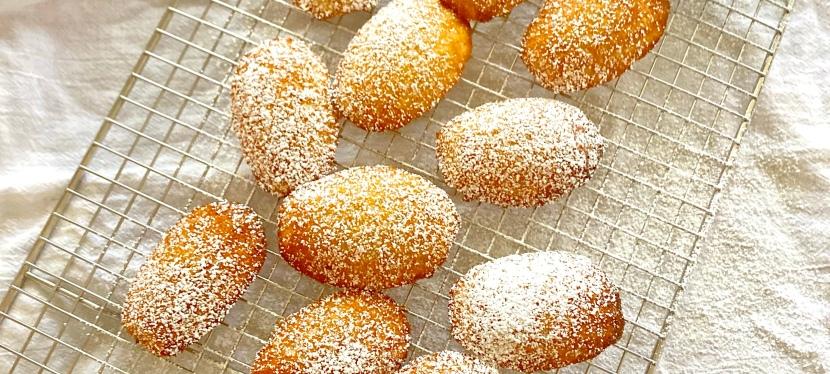 Coconut Madelines: a Gluten Free DessertCookie